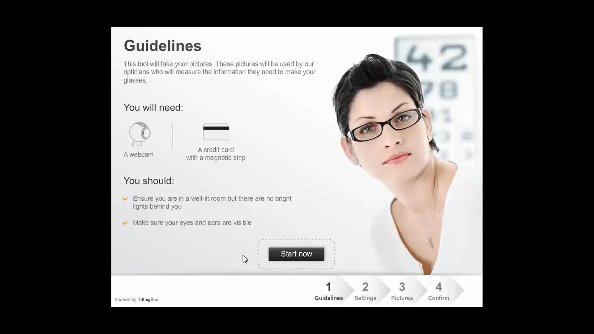 PD measurement tool for eyewear professionals